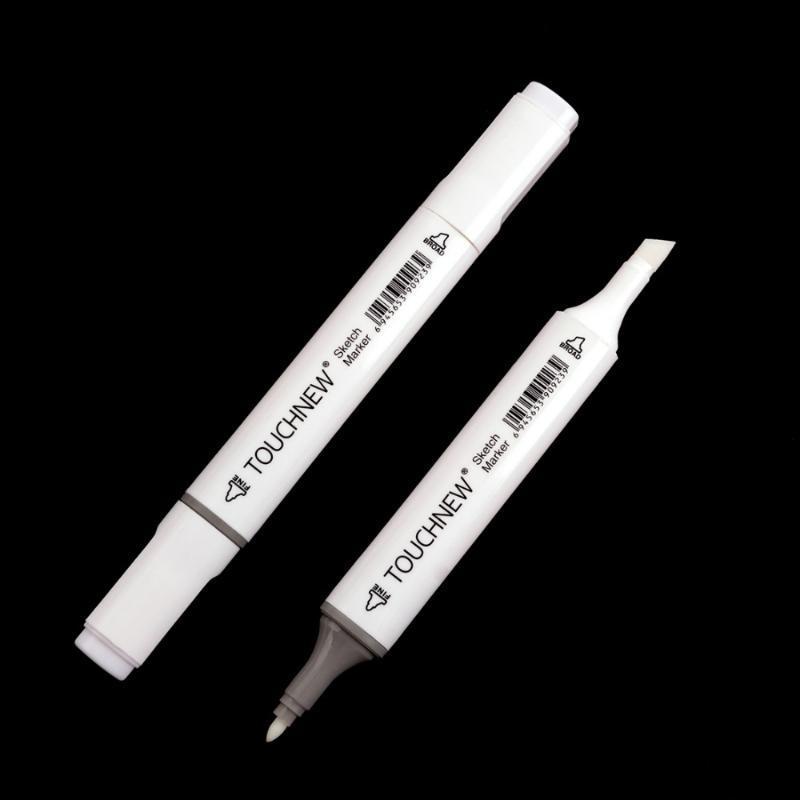 TOUCHNEW 0 # бесцветная блендер Маркер на спиртовой основе чернил с двойной головкой Эскиз Marker Набор для художников Манга Картина Blender Supplies