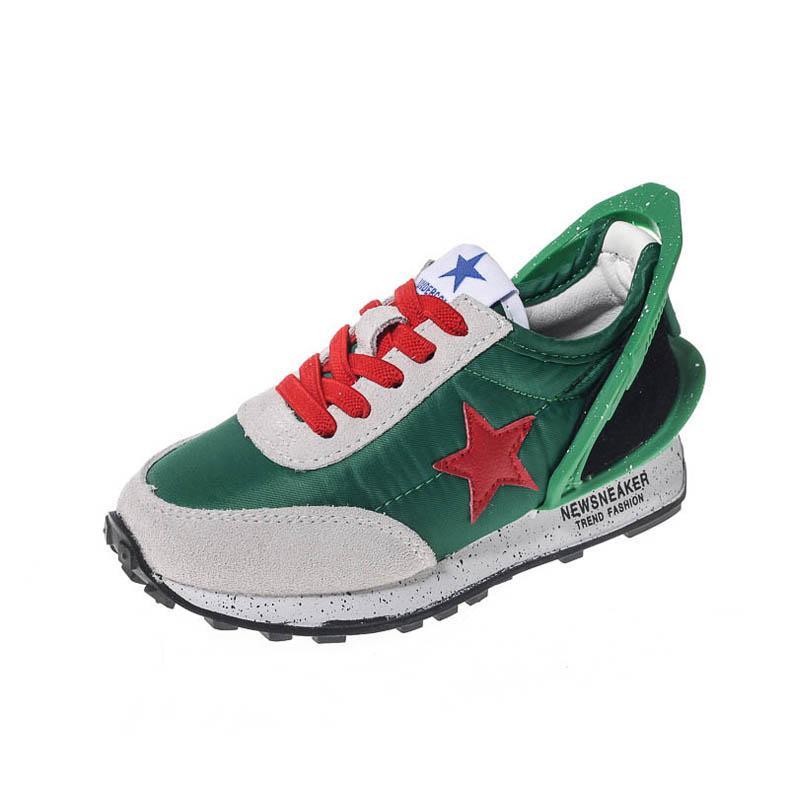 2020 nueva moda niños grandes zapatos niños formadores niños zapatillas de deporte zapatos de los muchachos muchachos formadores niñas zapatos las zapatillas de deporte niñas entrenadores B46 menor