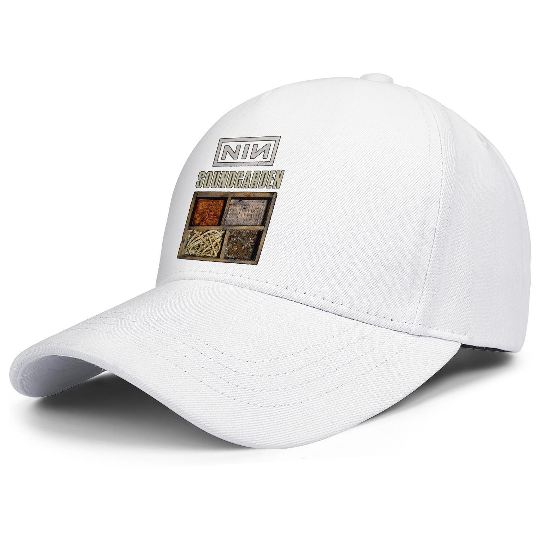 Uomo e berretti da baseball delle donne sfera grafica personalizzata cappello di moda camionista Nine Inch Nails NIN Soundgarden Anno Zero non l'evento reale