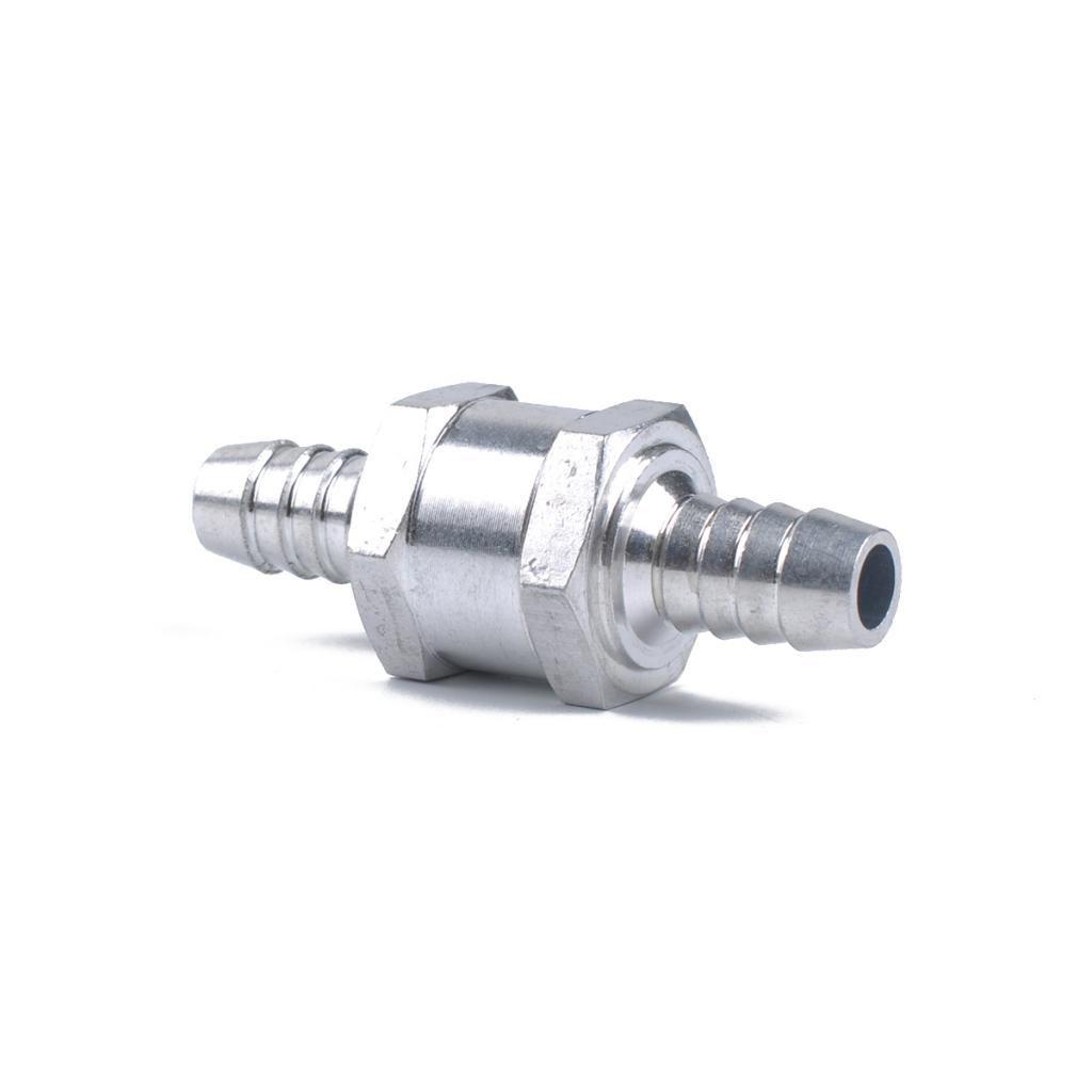 Aluminium Fuel Line 6//8//10//12mm One Way Non Return Check Valve Petrol Diesel
