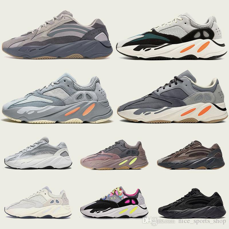Newest Release 700 Kanye West Wave Runner Men Women Running Shoes 700s B75571 I7Ye Ezy Sports