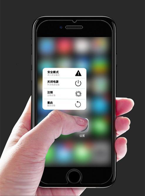 Para iphone 11 pro Promax Film dianteira completa transparente cola protetor de tela de vidro temperado para iPhone X / XR / Xs / Xs Max / 8/7/6/5 / 5S / 5E