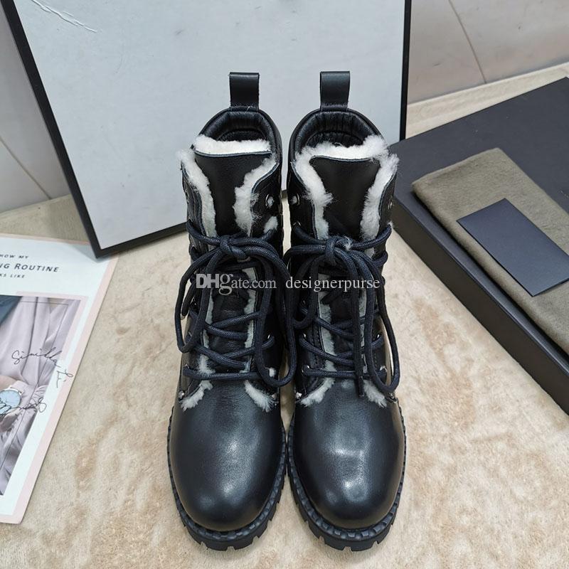 2019 nouvelles femmes de créateurs de luxe bottes Marque bottines femmes bottes d'hiver dame dentelle chaussure de mode haut motif de tissage botte martin bottillons