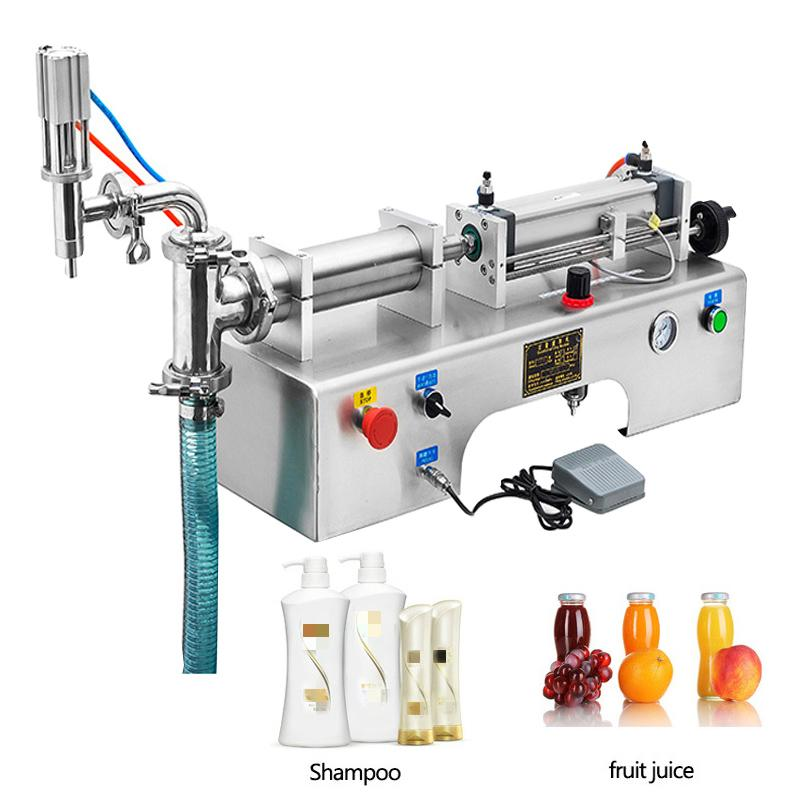 Foot pedal liquid filling machine for milk olive oil beverage liquor pure water soy sauce vinegar liquid packaging machine