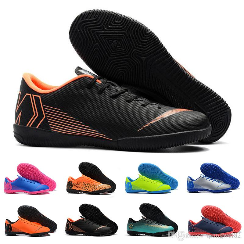 2019 Mercurial Superfly VII Soccer 12 6 XII Club CR7 Cristiano Ronaldo Shoes Generation TF IC Football Cleats ACC Soccer Boots 39-45