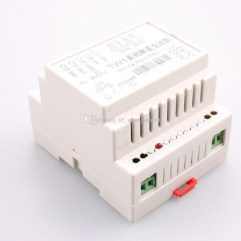Модуль 2mv/V усилителя ячейки загрузки рельса DIN входной сигнал 0 - 5V выход 24V работая электропитание датчик веса формирователь сигнала электрический маштаб