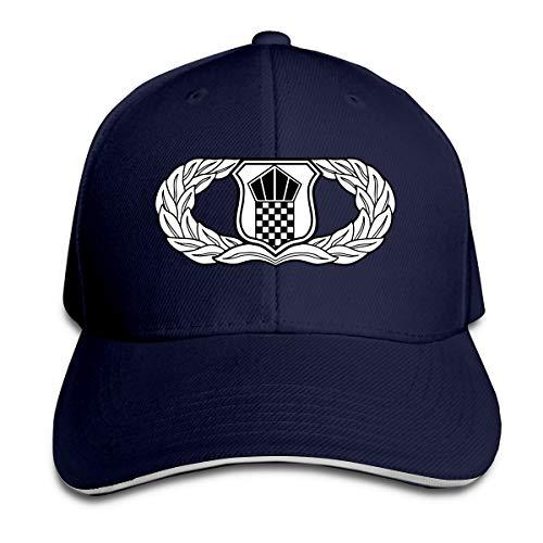 ВВС США Air Traffic Control Badge Baseball Cap Регулируемая Пике Unisexe Мужчины Женщины Бейсбол Спорт на открытом воздухе хип-хоп шапки шляпы