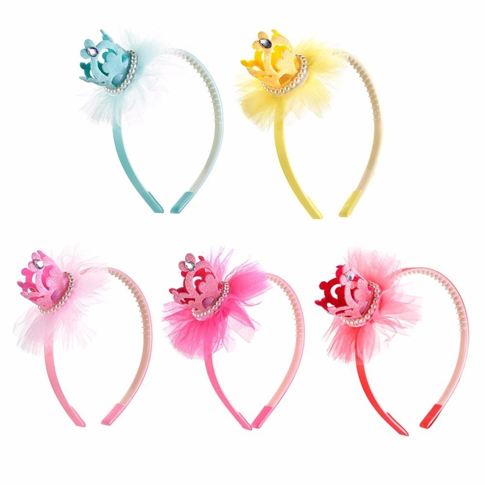 Lace Pearl Headdress Hair Hoop For Ladies Headband Headwear Hair Accessories
