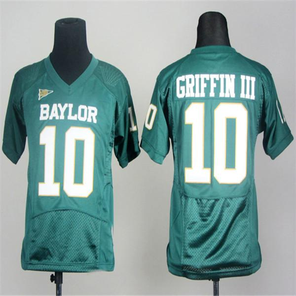 2019 Custom Mens Womens Kids Baylor Bears 10 Robert Giffin Iii 25 Lache Seastrunk Green White Stitched Any Name No College Football Jerseys From