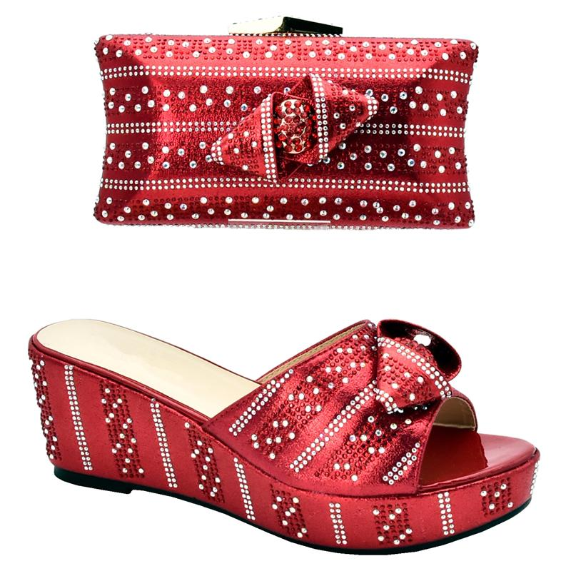 New Arrival Women Shoes and Bag Set In Italy Matching Shoes and Bag Set In Heels Italian Shoe and Matching Bag for Nigeria Party