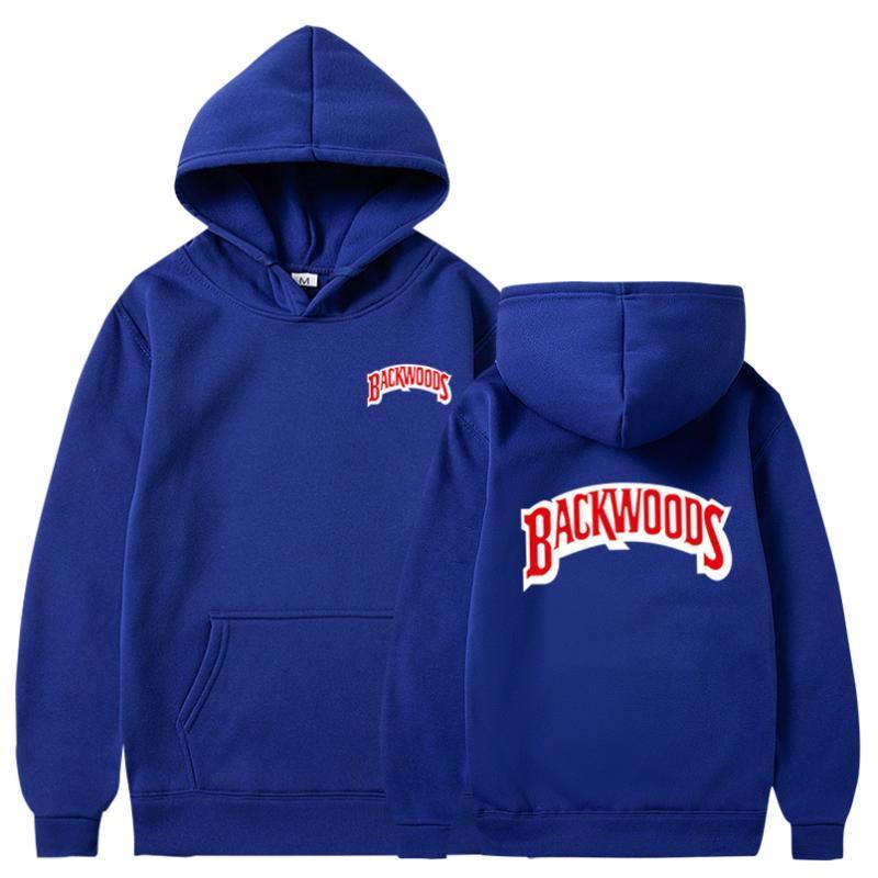 Delle donne degli uomini Fashion Street Hoodies Streetwear Backwoods Maglioni Felpe Top Hip Hop Hip Hop Formato più