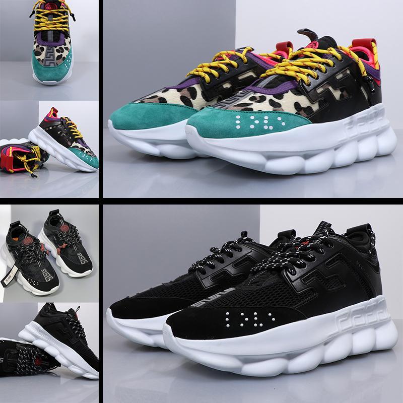 VERSACE  nuevos zapatos de plataforma de la manera de los zapatos de las mujeres y los hombres con cordones de lazo zapato de punta redonda informal al aire libre de los deportes