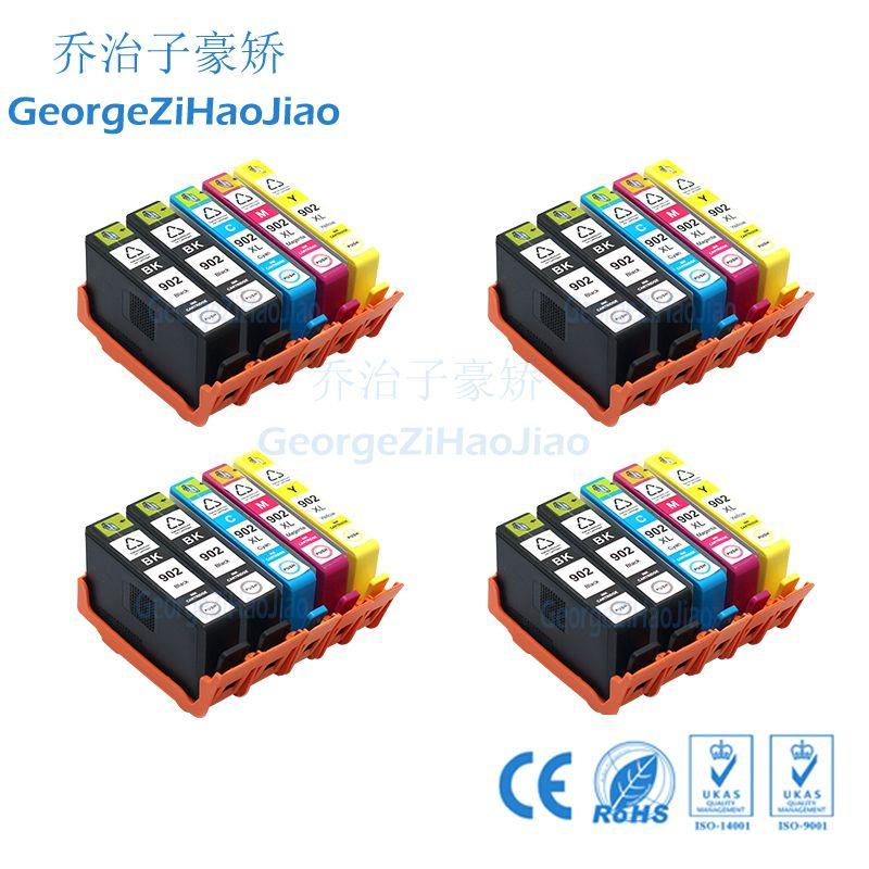 902L 902XL Ink Cartridge Lot for HP OfficeJet 6958 6960 6962 6950 6951 6954 6978