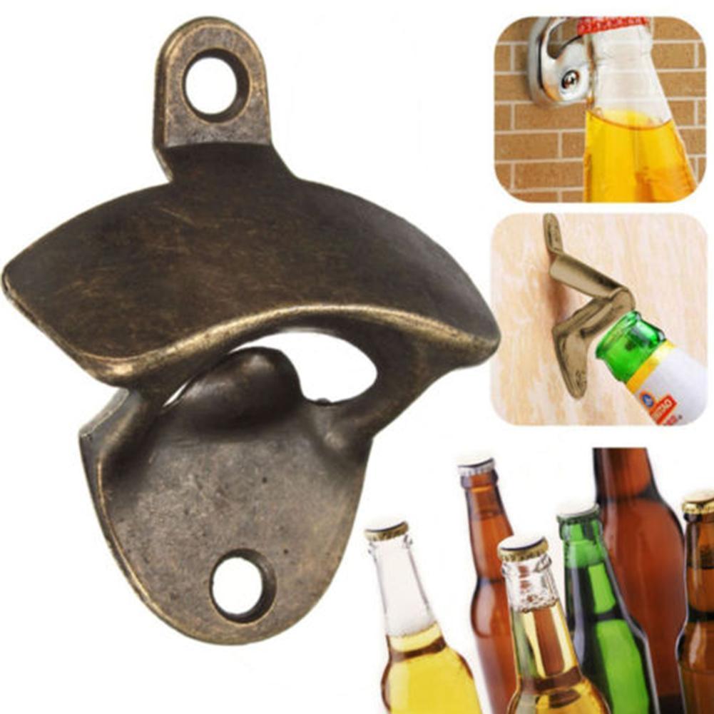 Şişe Açacağı Duvara Monte Şarap Bira Açacağı Araçları Bar Içme Aksesuarları Ev Dekor Mutfak Parti Malzemeleri