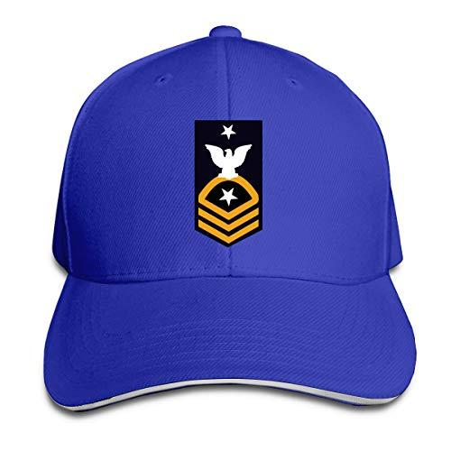 US Navy Cmdcs berretto da baseball registrabile Sandwich alzata Cappelli Unisexe Uomo Donna baseball esterna Sport Hip-hop hat Strapbacks