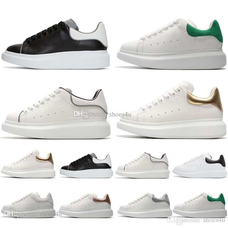 Sıcak Siyah Beyaz Platformu Klasik Rahat Ayakkabılar Rahat Spor Kaykay Ayakkabı Mens Womens Sneakers Kadife Topuk Elbise Ayakkabı