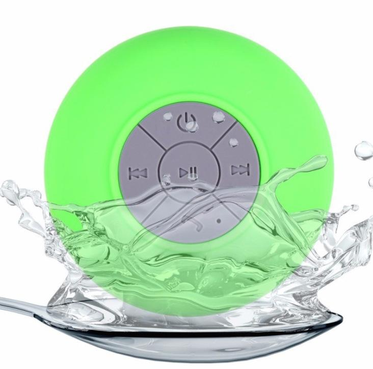 2019 Portable Subwoofer Shower Waterproof Wireless Bluetooth Speaker Car Handsfree Receive Call Music Suction Mic For iPhone Samsung