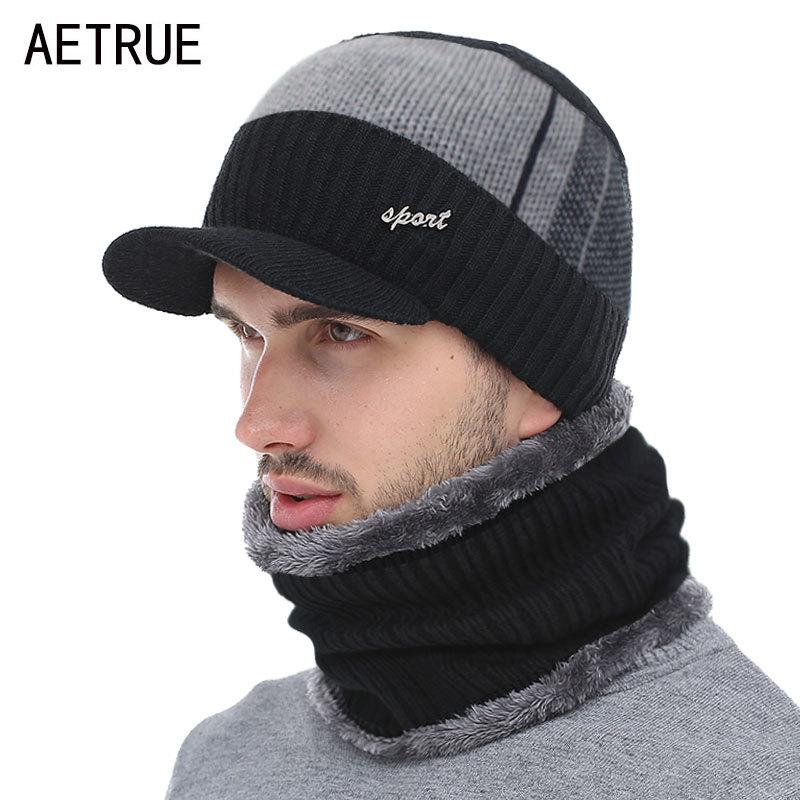 2020 Wholesale Knitted Hat Men Winter Beanie Hat Winter Hats For Men Necks Fur Bonnet Women Skullies Beanies Gorro Beany Beanies Cap T200116 From Xue08 4 66 Dhgate Com