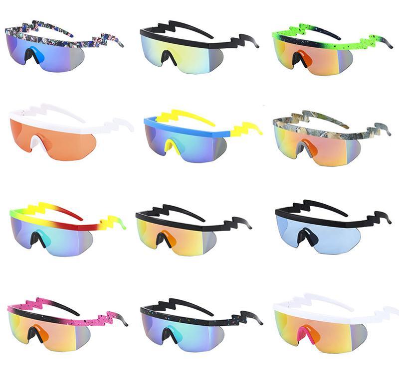 산악 도로 자전거를위한 자전거 안경 태양 유리 야외 스포츠 선글라스 UV400 보호 고글 남녀 14 색 안경 낚시 자전거