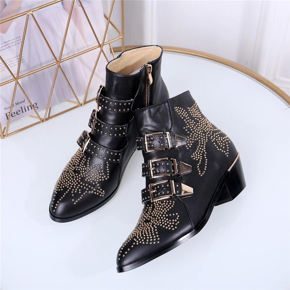Luxus Designer Damen Stiefel New Fashion Flock Plattform High Heels Frauen Herbst Winter Casual Stiefeletten Schuhe 35-42
