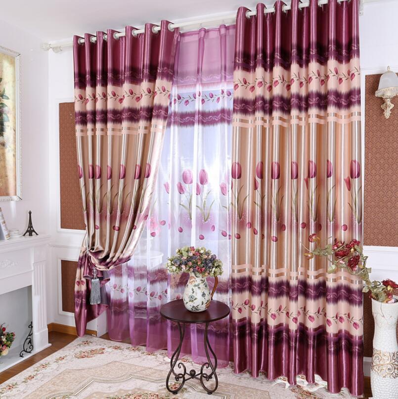 New 2019 Printed Fashion Classical Elegant Curtains Modern Classic Print High Quality Curtains Curtain Fabric Wholesale