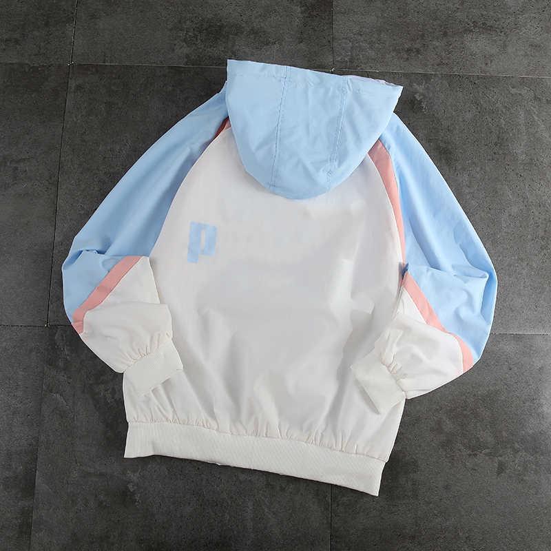 Kapşonlu 2020 S / S Unisex Marka Hoodie Ceket Casual Erkekler ve Kadınlar Çift Coat 2 Renkler YF203174 ile SICAK Womens Tasarımcı Ceket