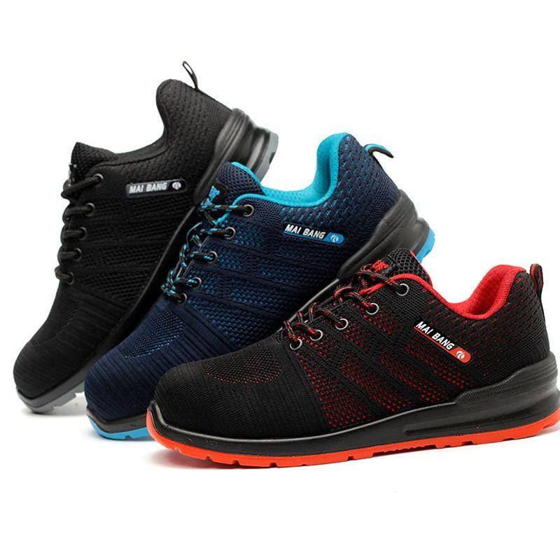 Hot Sale Unisex Steel Toe Work Shoes