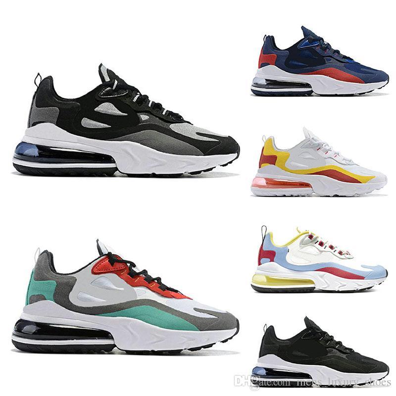 React Herren Damen Laufschuhe Bauhaus weiß schwarz grün Top Qualität Atmungsaktives Outdoor Kissen Sport Sneaker Schuhe Größe 40-45