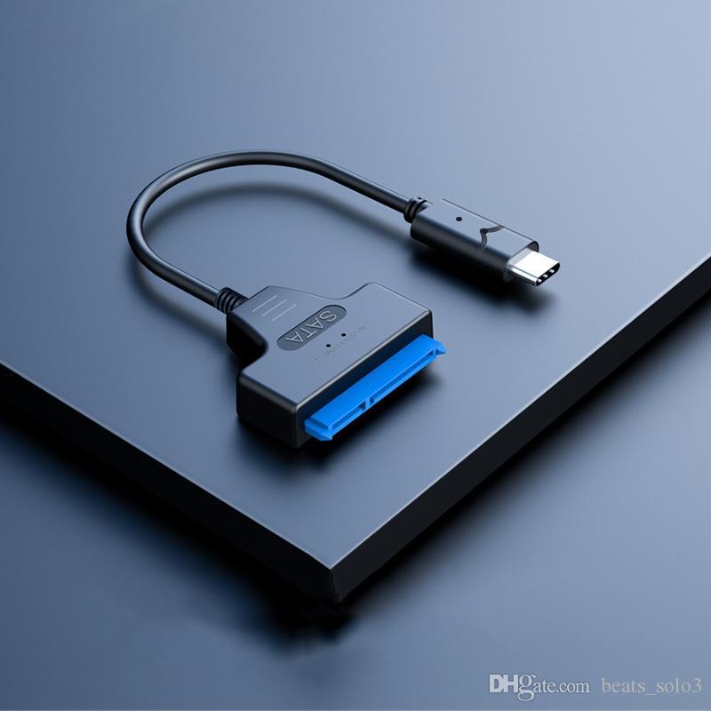Tipo-C para sata 3.0 easy drive line Linha de dados de conexão de disco rígido móvel de 2,5 polegadas