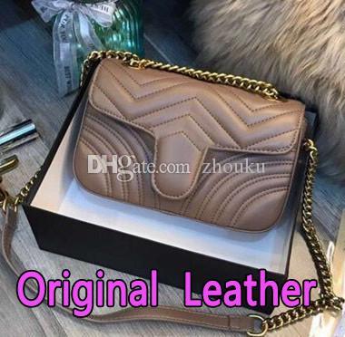 gucci marmont 2019 venda quente mulheres designer de bolsas de luxo mensageiro crossbody sacos de ombro cadeia saco de boa qualidade pu bolsas de couro das senhoras bolsa