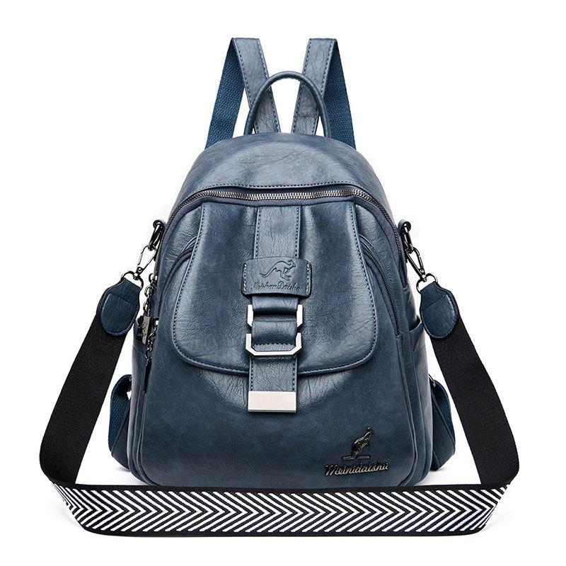 Verano 2020 mochila de viaje cuero de las mujeres de los morrales pecho Bagpack señoras de mochila escolar Mochilas Bolsas para chicas adolescentes