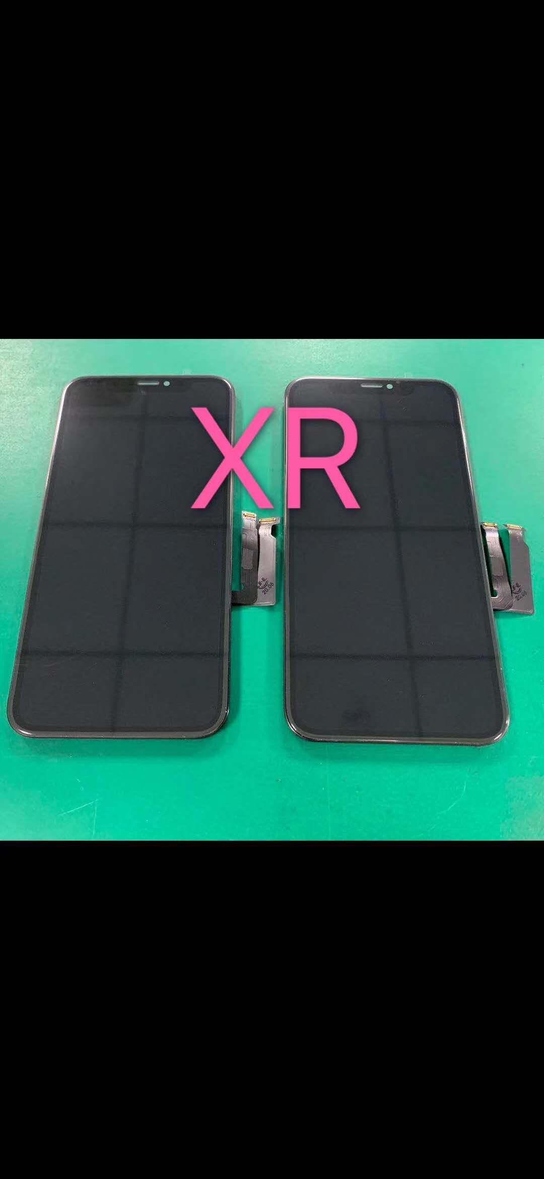 gran valor del envío libre de la asamblea LCD digitalizador de pantalla LCD OEM para XR XR iPhone con placa y tornillos