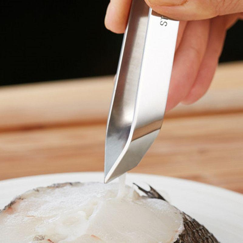 StainlessSteel Craft Tool Fish Bone Hair Remover Pincers Pullers Tweezer Pick—AY