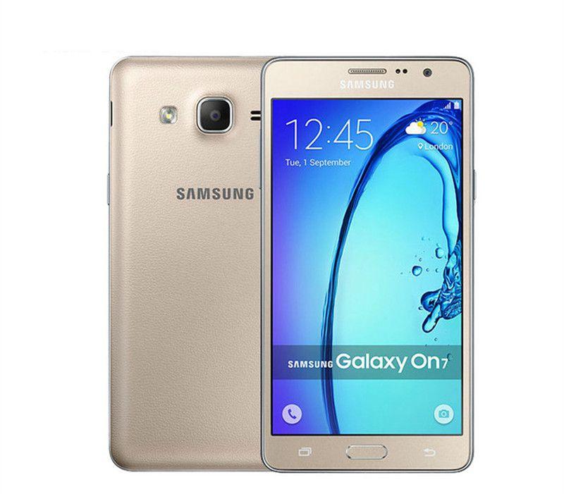 الأصل سامسونج غالاكسي On7 G6000 رباعية النواة 5.5INCH 13.0MP كاميرا 4G LTE 16GB تجديد الروبوت الهاتف الخليوي