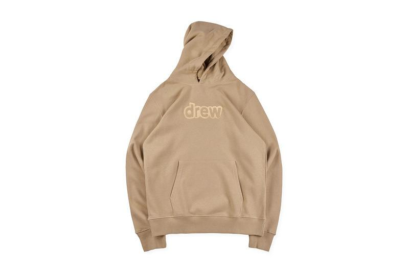 Justin bieber Sweatshirts Hooded drew house Embroidered Word Dress Men and Women Couples Designer Hoodie Sweatshirts