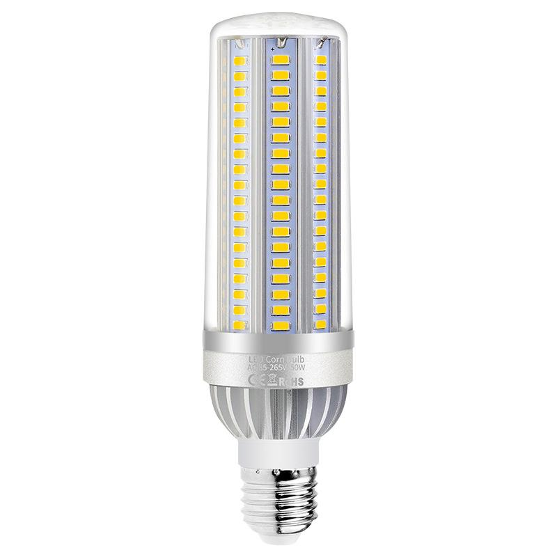LED Bulb 25W 35W 50W 54W Excellent Bright Fan Corn Lamp High Power Factory Warehouse Workshop Indoor Lighting E27 Daylight Warmwhite