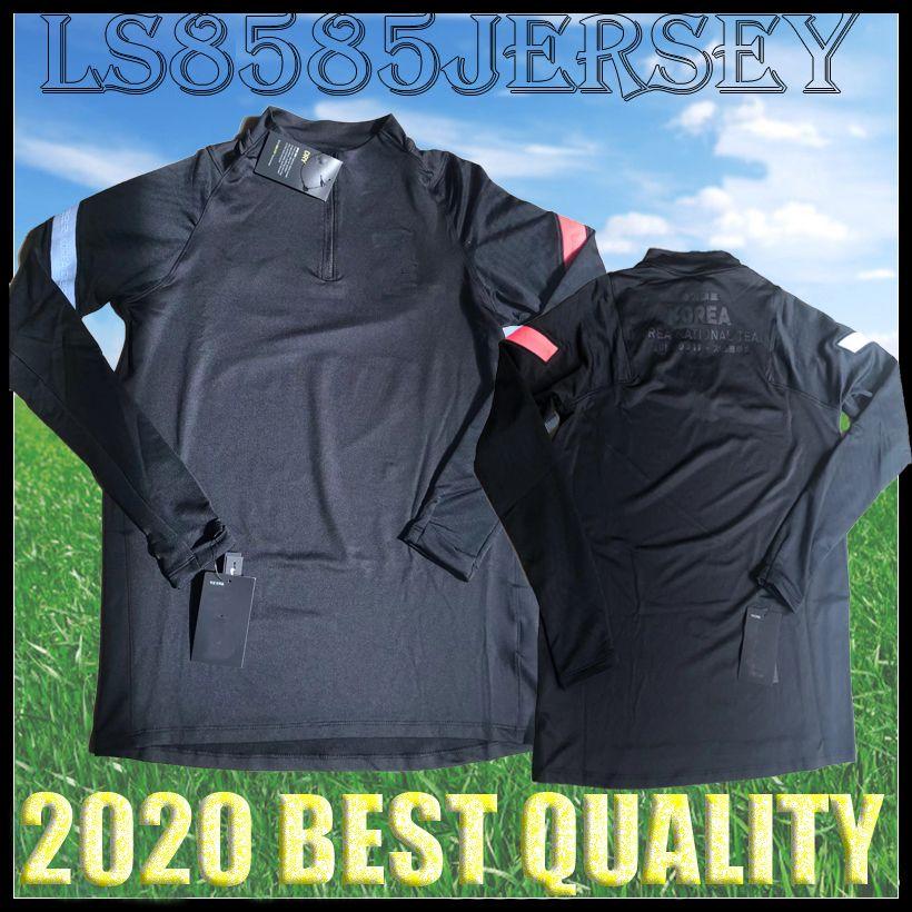 2020 2021 جنوب SON كرة القدم السوداء رياضية قمصان تدريب كرة القدم كوريا السراويل الطويلة مجموعات 20 21 رجل يضع جيرسي التايلاندية جودة موحدة