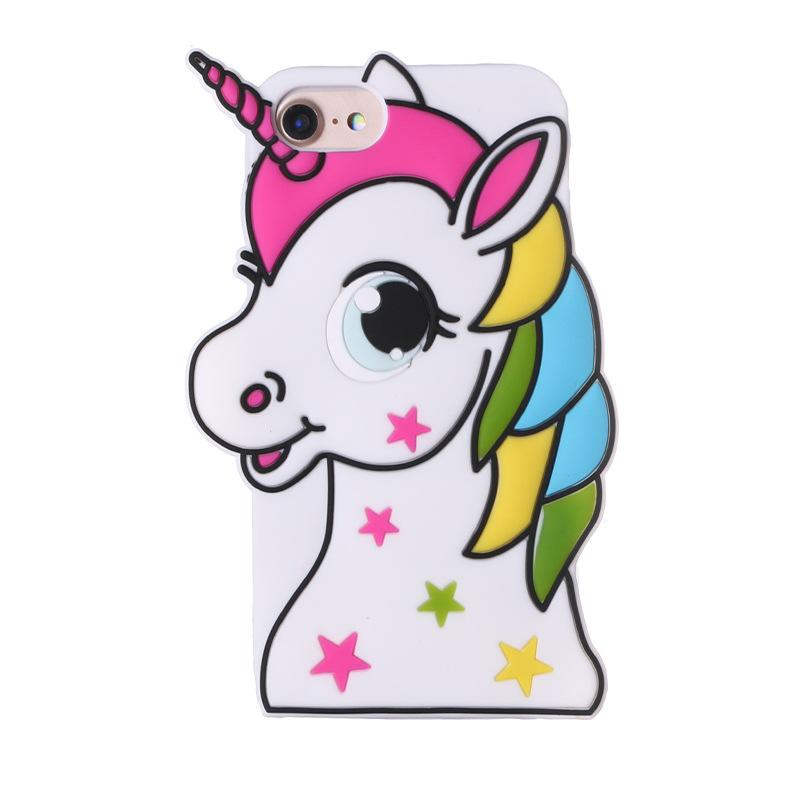 Cover For Iphone 5 Iphone 6 Unicorn 087