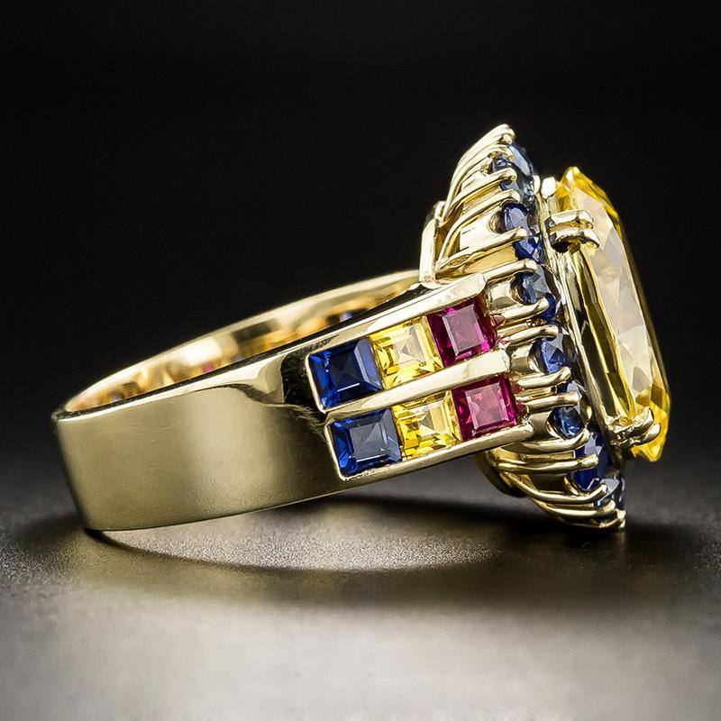 2018 новый crossborder эксклюзивные ювелирные изделия оптом Caibao fashion fashion ring wish lazada популярный новый продукт