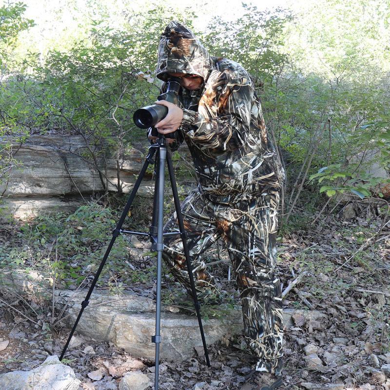 roupas cana de pesca junco camuflagem caça ao ar livre roupas biônicos paletó e calças roupas tático