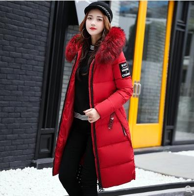 Donne Down Parkas Inverno 2021 -30 Gradi Cappotti Cappotti con cappuccio Collare in pelliccia con cappuccio Sezione spessa Sezione calda Giacche da neve Giacca da neve
