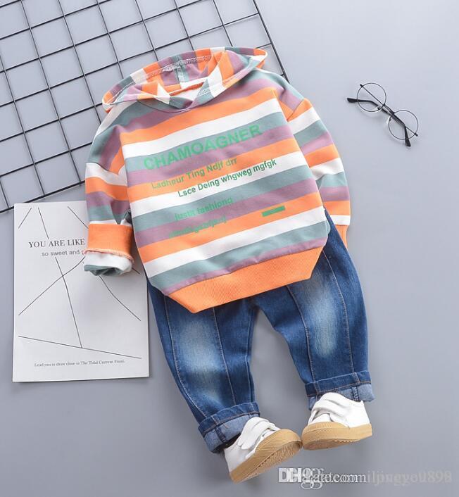 Neuer Kindersport Kinderverwest Kleidung Anzug Fabrik Direktvertrieb im Jahr 2019