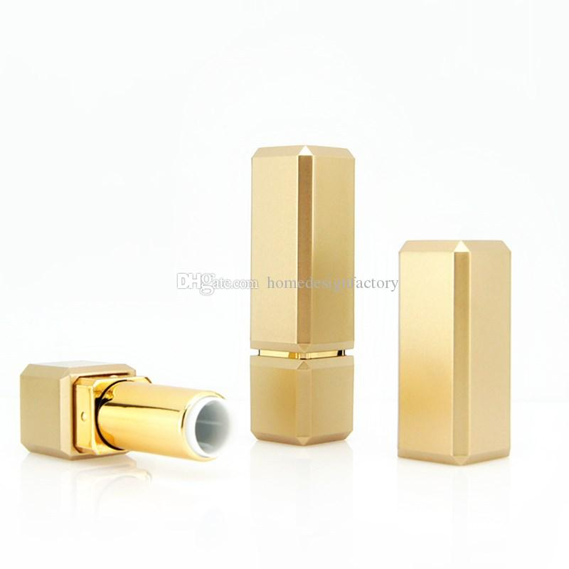 Gold Lipstick Tube Top Grade Lip Balm Sub Package DIY Empty High-end Rouge Container