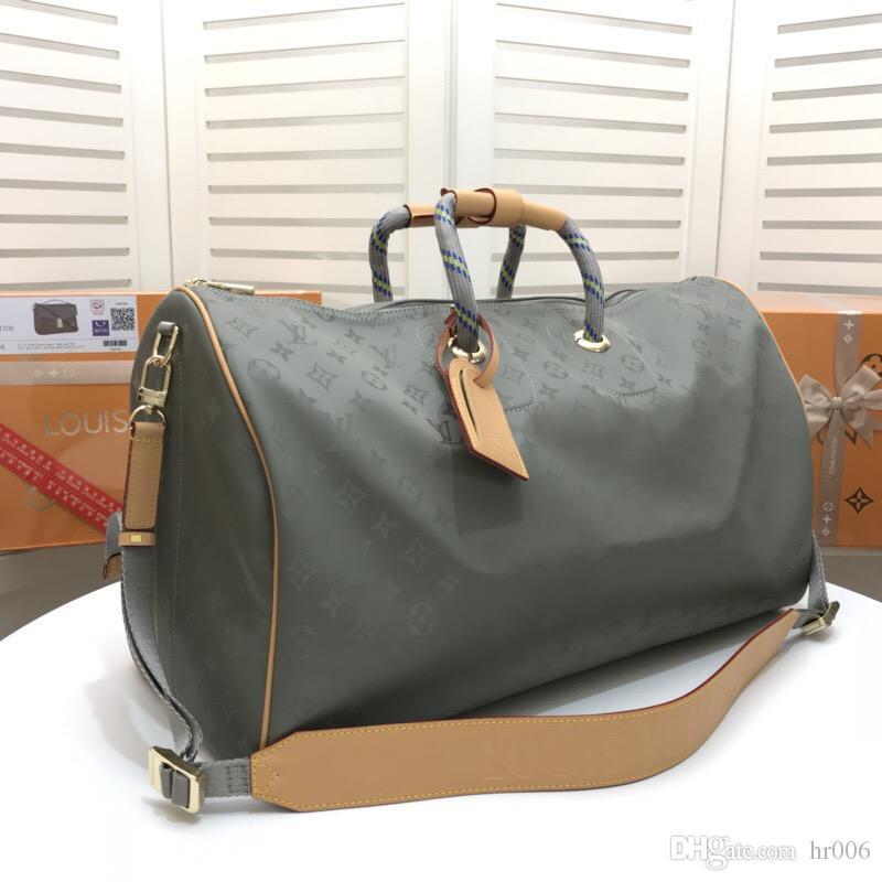 2020 Klassischer n43886 50..29..23cm Mode Echtes Leder Männer andwomen Beutel, einzelne Schulterbeutel, Handtasche, Tasche doubleshoulder