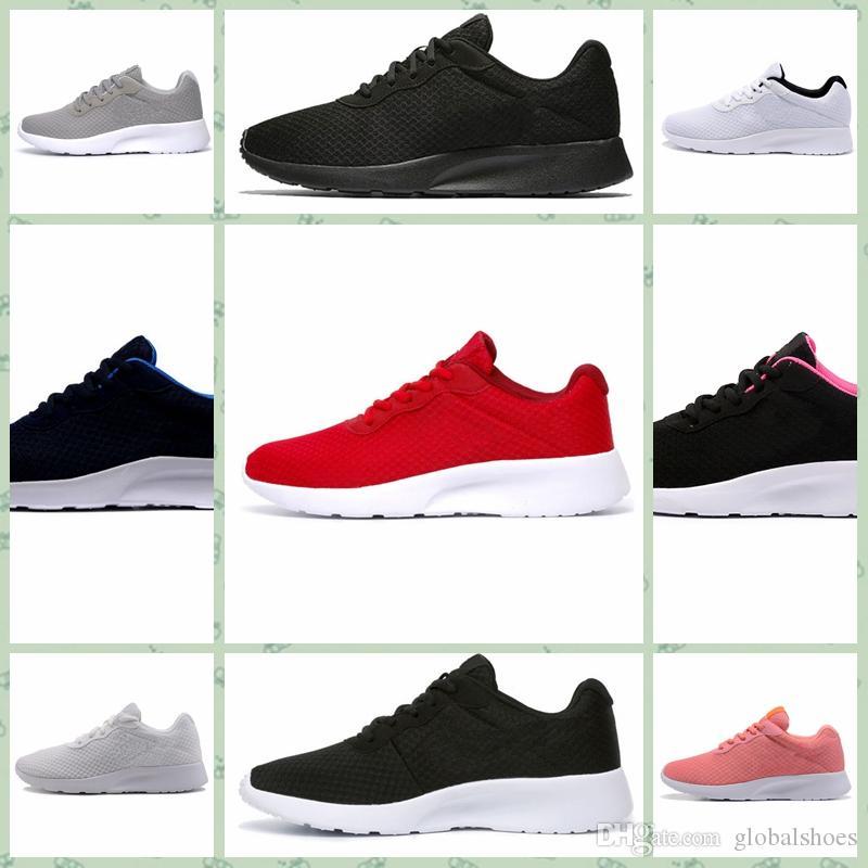 Nike Tanjun 2019 Vendita calda Scarpe da corsa uomo donna nero basso leggero traspirante London Tanjun 1.0 3.0 ympic Sneakers sportive da ginnastica taglia 36-44