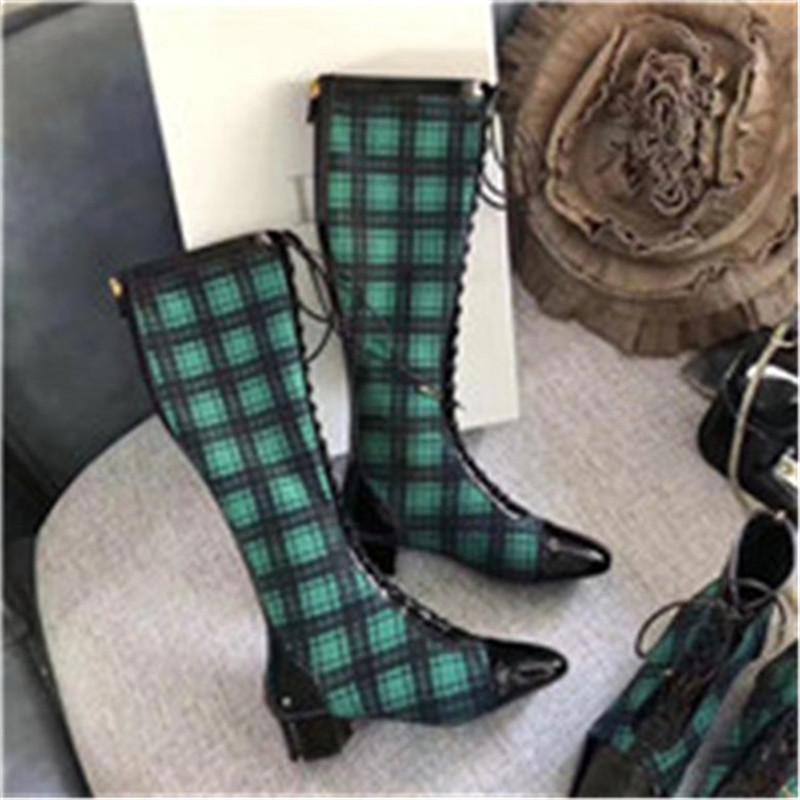 Hot Sale-automne et hiver dames bottes de mode casual chaussures chaussures de marque de luxe de qualité supérieure sauvage confortable noble luxe