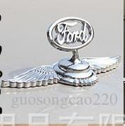 Chrome Metal Car Front Hood Ornament Sticker Badge Decal Emblem for Buick