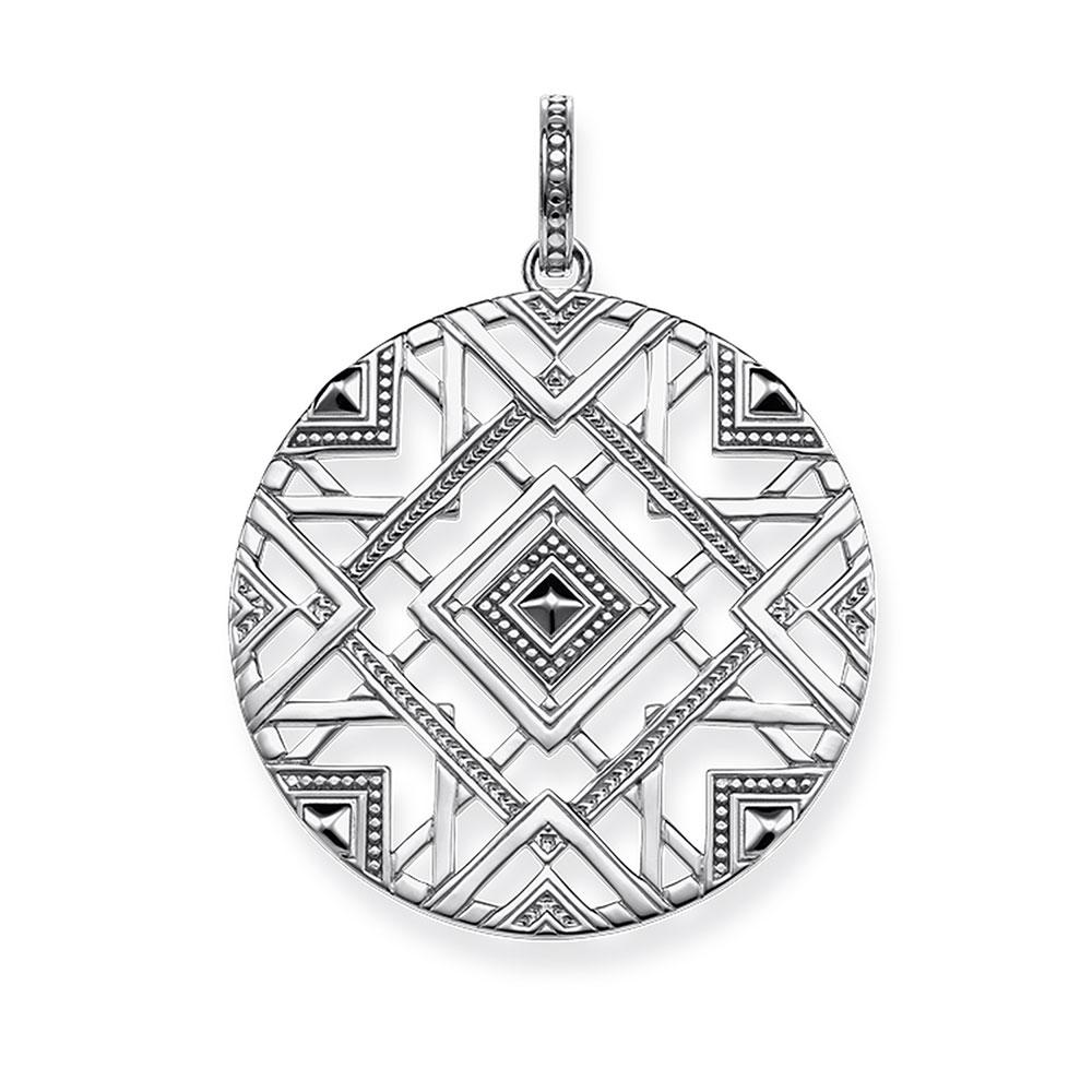 African Totem Ornaments Pendants Hollow Out Ethnic Silver Fashion Jewelry DIY Necklace Accessories for Women Men 2018 New