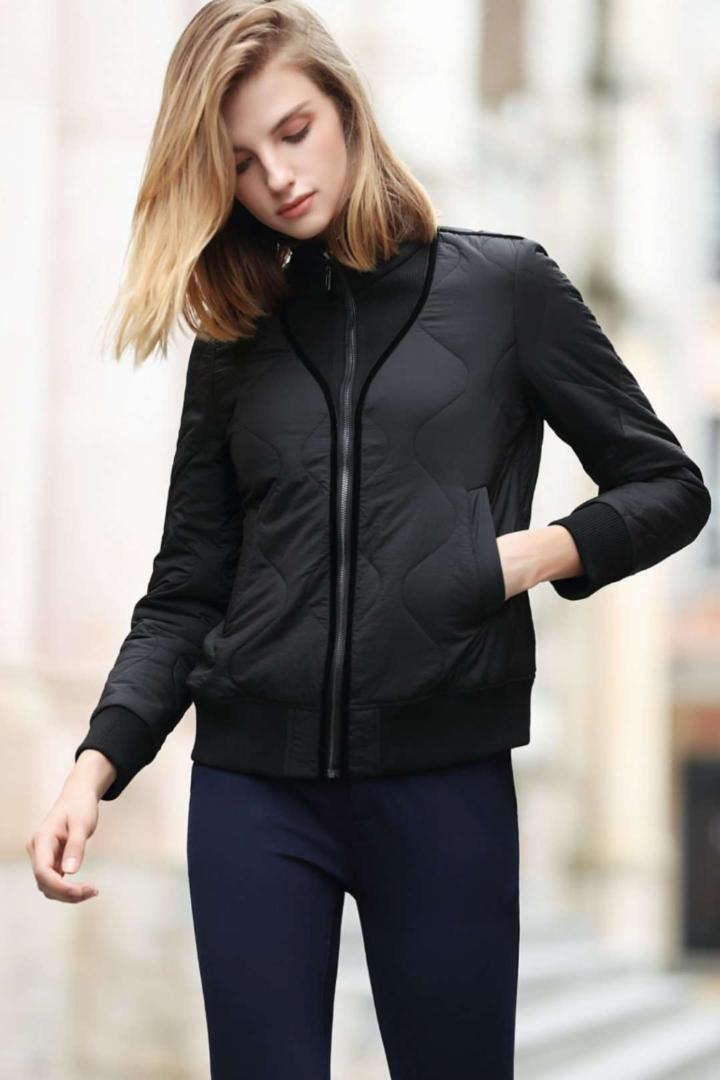Fall Winter Jacket women Parkas Womens Outerwear solid Coats Short Female Slim Cotton padded basic tops