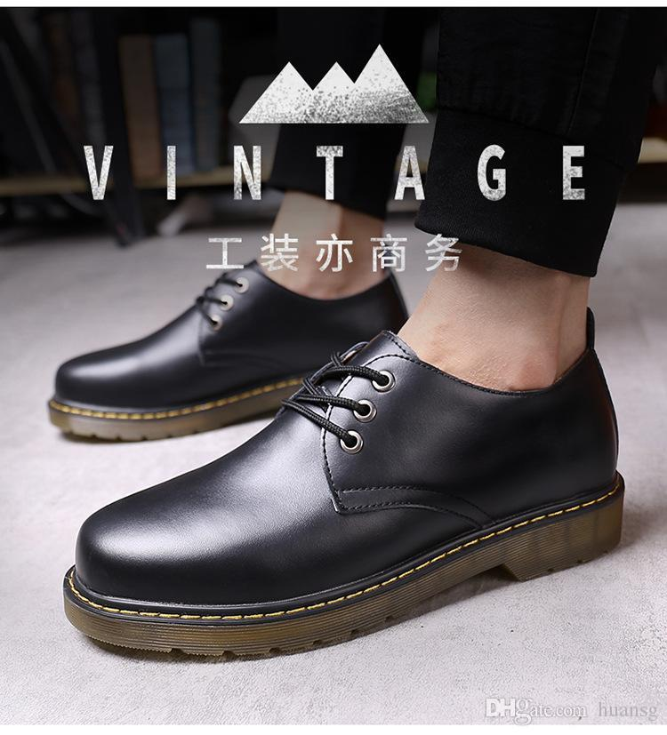 dawerw44 Cross border for 2019 Mountaineering mmmk Pig eight leather men low gang new hiking mmmk Casual mmmk Leather